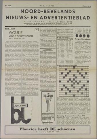 Noord-Bevelands Nieuws- en advertentieblad 1969-07-12