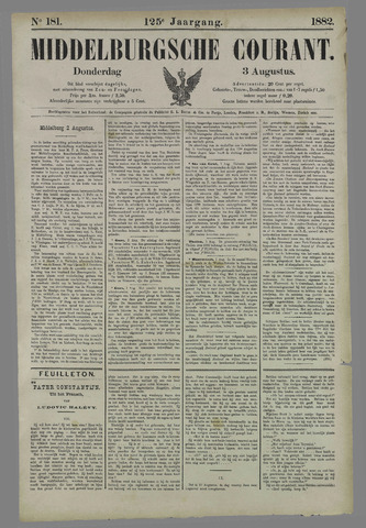 Middelburgsche Courant 1882-08-03