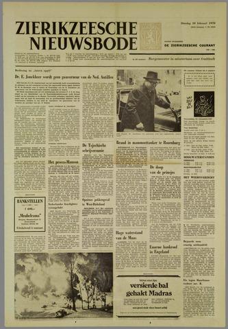 Zierikzeesche Nieuwsbode 1970-02-10
