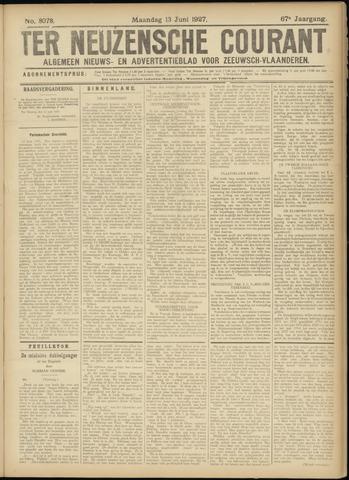 Ter Neuzensche Courant. Algemeen Nieuws- en Advertentieblad voor Zeeuwsch-Vlaanderen / Neuzensche Courant ... (idem) / (Algemeen) nieuws en advertentieblad voor Zeeuwsch-Vlaanderen 1927-06-13
