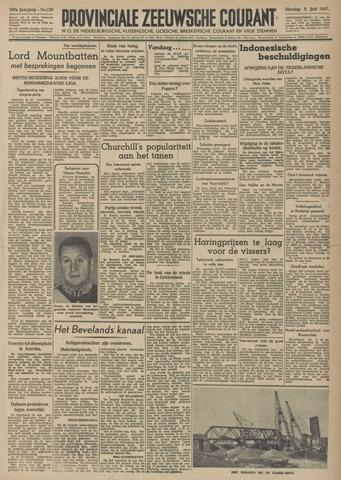 Provinciale Zeeuwse Courant 1947-06-03