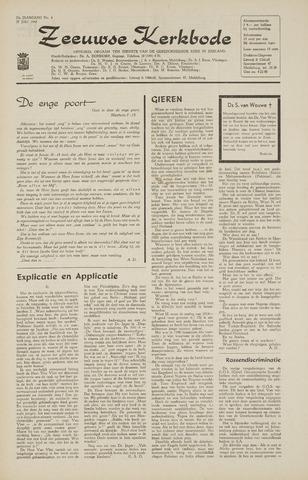 Zeeuwsche kerkbode, weekblad gewijd aan de belangen der gereformeerde kerken/ Zeeuwsch kerkblad 1968-07-25