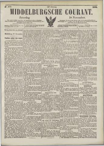 Middelburgsche Courant 1899-11-18