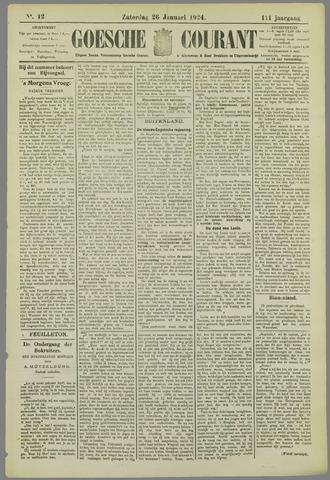 Goessche Courant 1924-01-26