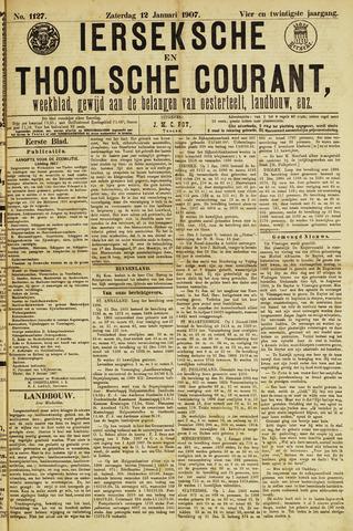 Ierseksche en Thoolsche Courant 1907-01-12