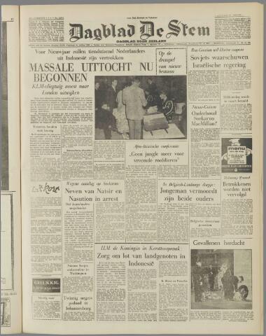 de Stem 1957-12-27