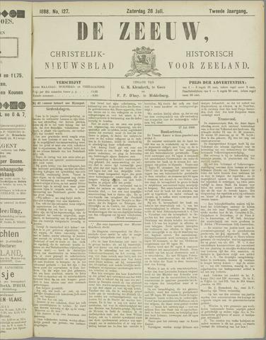 De Zeeuw. Christelijk-historisch nieuwsblad voor Zeeland 1888-07-28