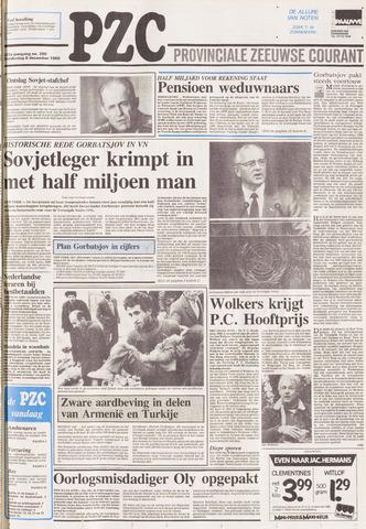 Provinciale Zeeuwse Courant 1988-12-08