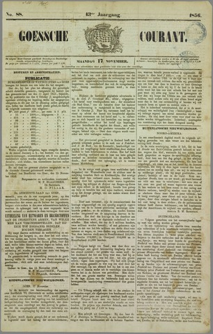 Goessche Courant 1856-11-17