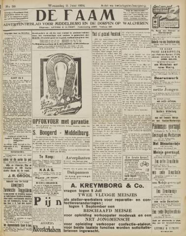 de Faam en de Faam/de Vlissinger 1924-06-11
