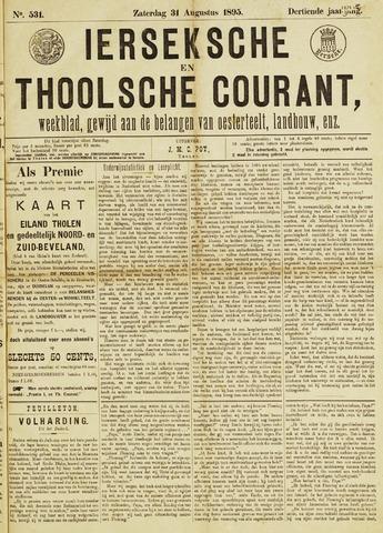 Ierseksche en Thoolsche Courant 1895-08-31
