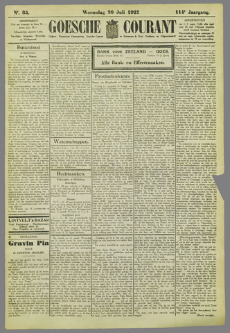 Goessche Courant 1927-07-20