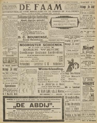 de Faam en de Faam/de Vlissinger 1923-10-31