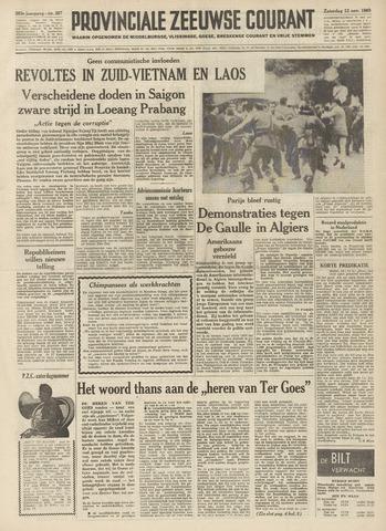Provinciale Zeeuwse Courant 1960-11-12