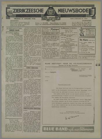 Zierikzeesche Nieuwsbode 1936-01-31