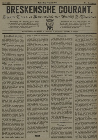 Breskensche Courant 1915-07-17