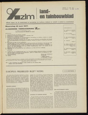 Zeeuwsch landbouwblad ... ZLM land- en tuinbouwblad 1971-06-18