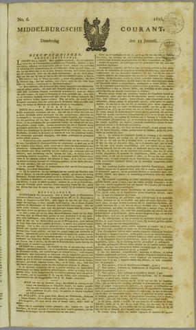 Middelburgsche Courant 1825-01-13