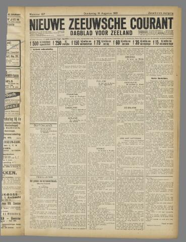 Nieuwe Zeeuwsche Courant 1921-08-18