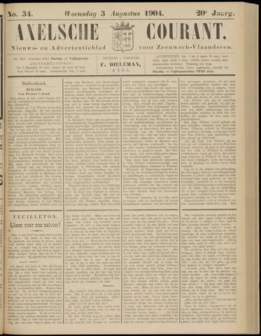 Axelsche Courant 1904-08-03