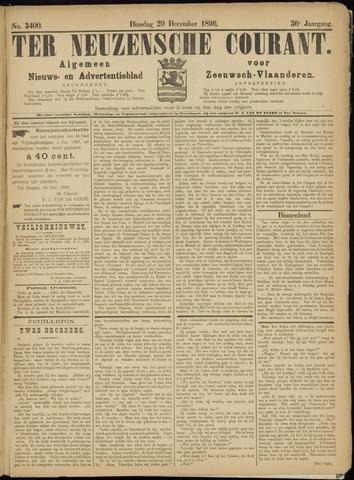 Ter Neuzensche Courant. Algemeen Nieuws- en Advertentieblad voor Zeeuwsch-Vlaanderen / Neuzensche Courant ... (idem) / (Algemeen) nieuws en advertentieblad voor Zeeuwsch-Vlaanderen 1896-12-29