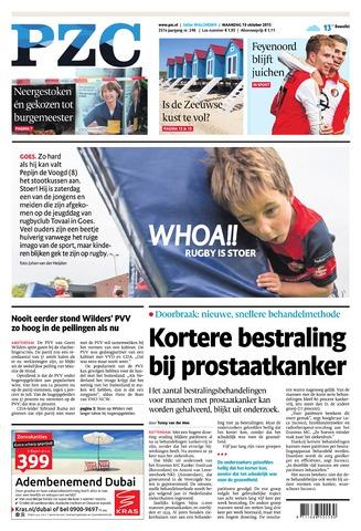 Provinciale Zeeuwse Courant 2015-10-19