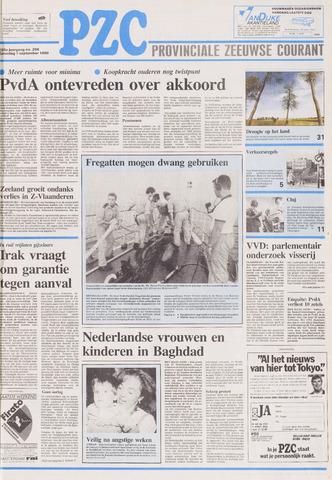 Provinciale Zeeuwse Courant 1990-09-01