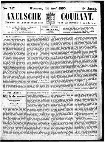 Axelsche Courant 1893-06-14