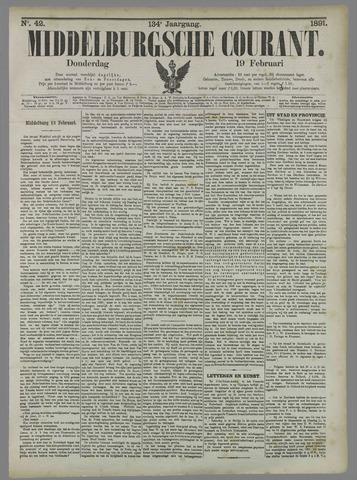 Middelburgsche Courant 1891-02-19