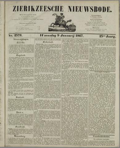 Zierikzeesche Nieuwsbode 1867-01-09