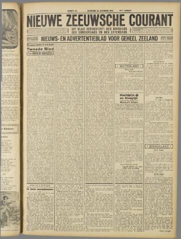 Nieuwe Zeeuwsche Courant 1932-12-24
