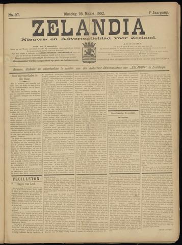 Zelandia. Nieuws-en advertentieblad voor Zeeland | edities: Het Land van Hulst en De Vier Ambachten 1902-03-25