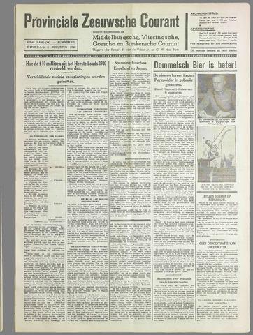 Provinciale Zeeuwse Courant 1940-08-06
