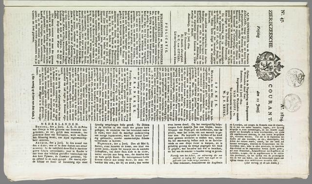 Zierikzeesche Courant 1824-06-11