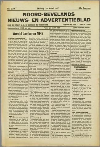 Noord-Bevelands Nieuws- en advertentieblad 1947-03-29