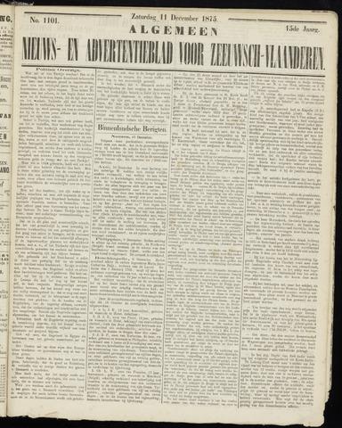 Ter Neuzensche Courant. Algemeen Nieuws- en Advertentieblad voor Zeeuwsch-Vlaanderen / Neuzensche Courant ... (idem) / (Algemeen) nieuws en advertentieblad voor Zeeuwsch-Vlaanderen 1875-12-11