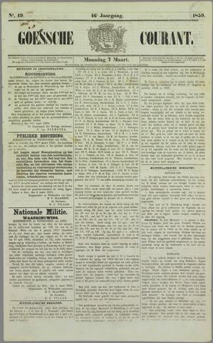 Goessche Courant 1859-03-07