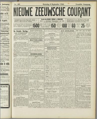 Nieuwe Zeeuwsche Courant 1916-09-09