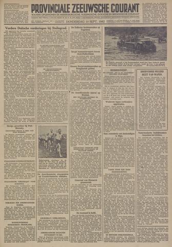 Provinciale Zeeuwse Courant 1942-09-10