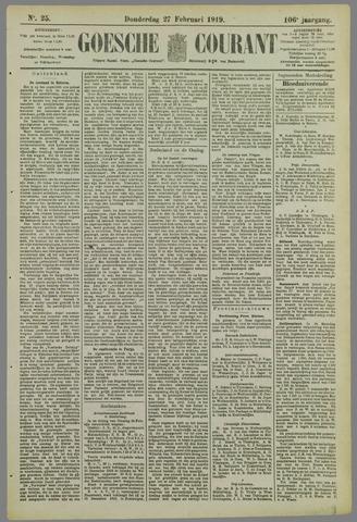 Goessche Courant 1919-02-27