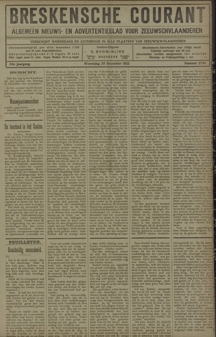 Breskensche Courant 1922-12-20
