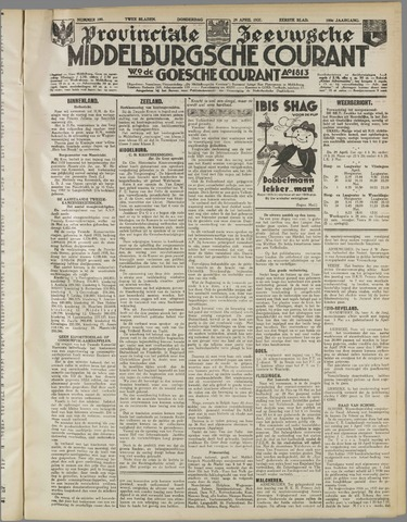 Middelburgsche Courant 1937-04-29