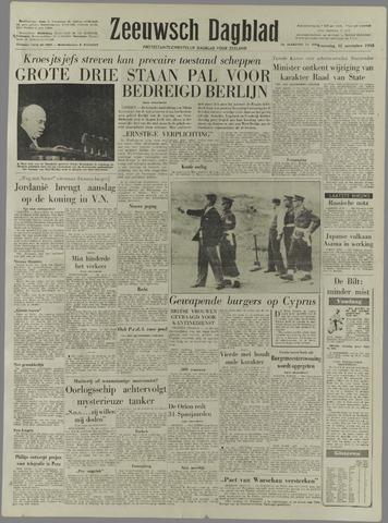 Zeeuwsch Dagblad 1958-11-12