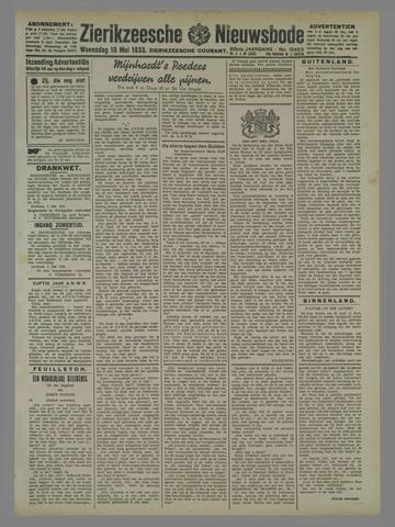 Zierikzeesche Nieuwsbode 1933-05-10