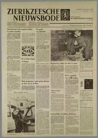Zierikzeesche Nieuwsbode 1965-02-18