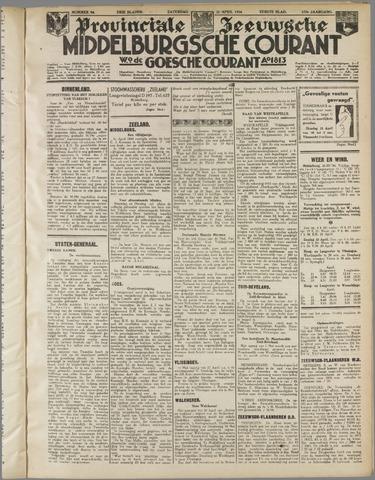 Middelburgsche Courant 1934-04-21