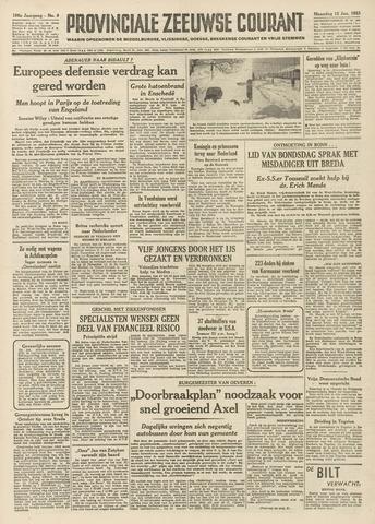 Provinciale Zeeuwse Courant 1953-01-12