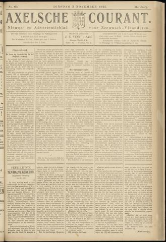Axelsche Courant 1925-11-03