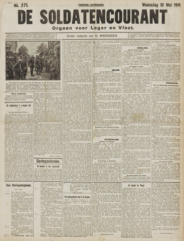 De Soldatencourant. Orgaan voor Leger en Vloot 1916-05-10