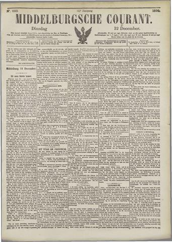 Middelburgsche Courant 1899-12-12